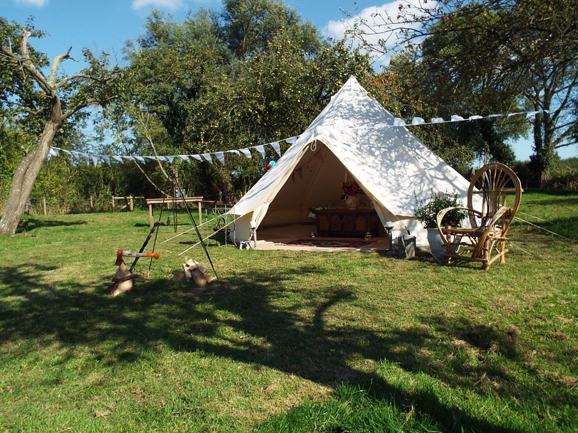 cotswold bell tent & Cool Camping have their say... - The Glamping Orchard